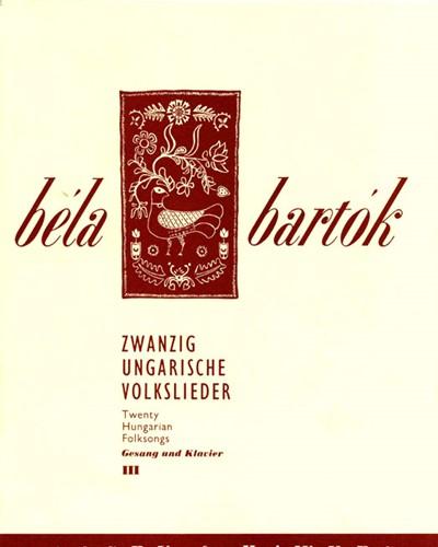 20 Hungarian Folksongs, Vol. 3
