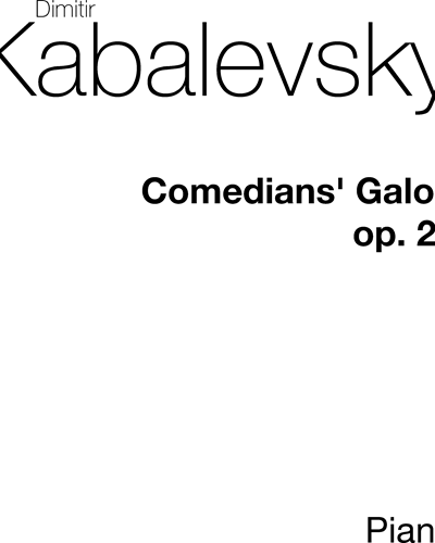 Comedians' Galop