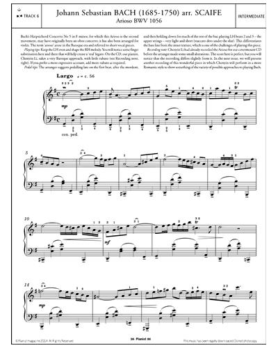 Arioso BWV 1056