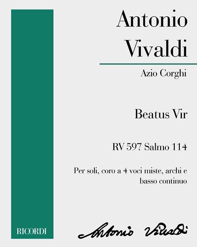 Beatus Vir RV 598 Salmo 111