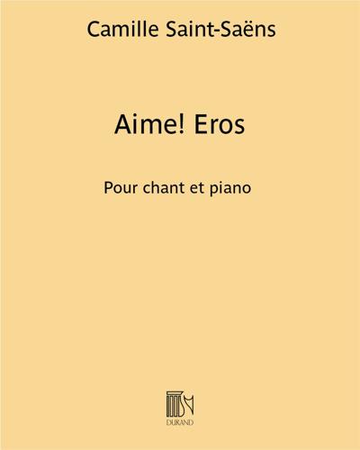 """Aime! Eros (extrait de """"La lyre et la harpe"""")"""