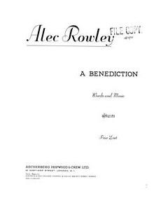 A Benediction
