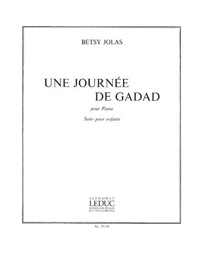 Une Journée de Gadad pour Piano