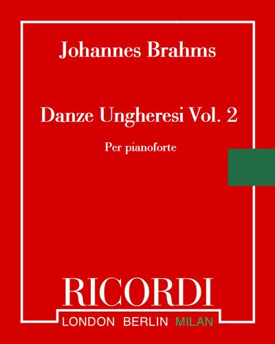 Danze ungheresi Vol. 2 (n. 11-21)