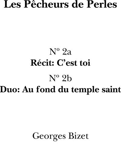 Au Fond Du Temple Saint