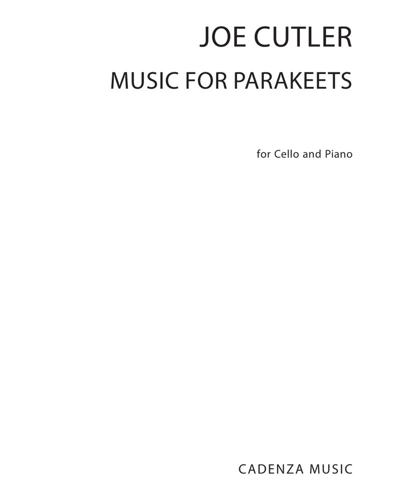 Music for Parakeets