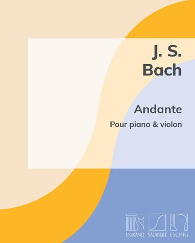 Andante pour piano & violon