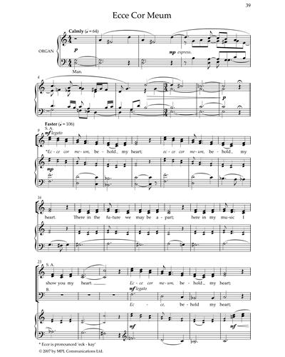 Ecce Cor Meum (from 'Ecce Cor Meum')