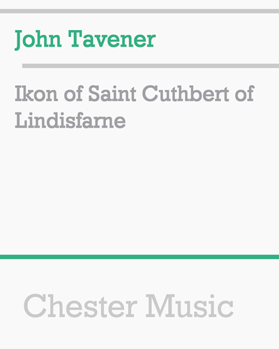 Ikon of Saint Cuthbert of Lindisfarne