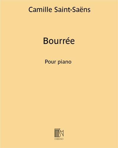 """Bourrée (extrait de """"Javotte"""")"""