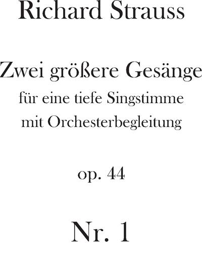 Notturno Op. 44 n. 1