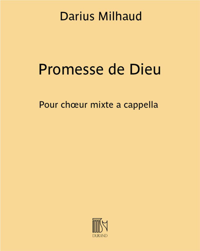 Promesse de Dieu Op. 438