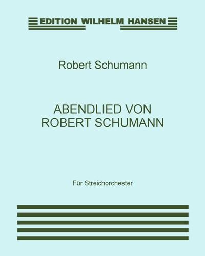 Abendlied von Robert Schumann