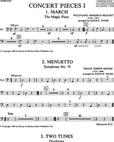 David Stone: Concert Pieces, Vol  1 sheet music | nkoda