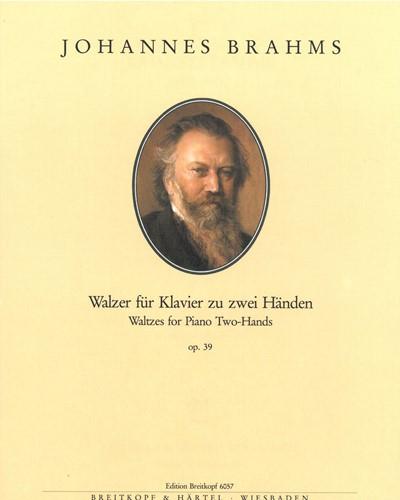 16 Walzer op. 39 (erleichterte Fassung)