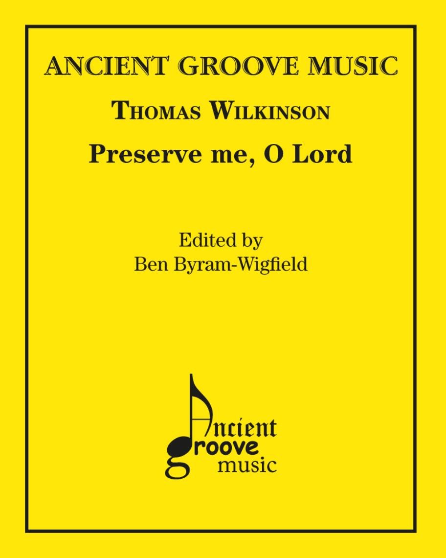 Preserve me, O Lord