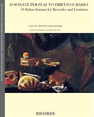 10 Sonate per flauto diritto e basso