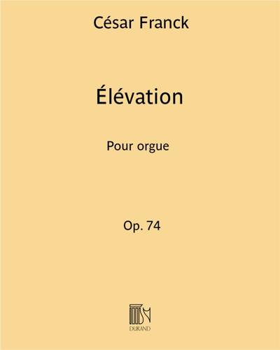 Élévation Op. 74