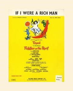 If I Were A Rich Man (from 'Fiddler On The Roof') (PRS Territories claim)