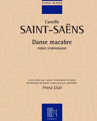 Danse macabre - Transcription pour piano (F. Liszt)