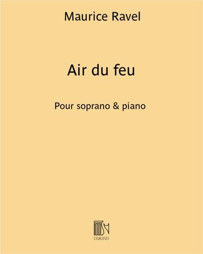 """Air du feu (extrait de """"L'Enfant et les sortilèges"""")"""