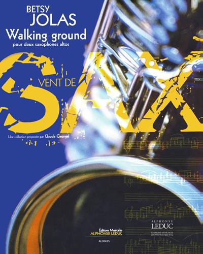 Walking Ground pour Deux Saxophones Altos