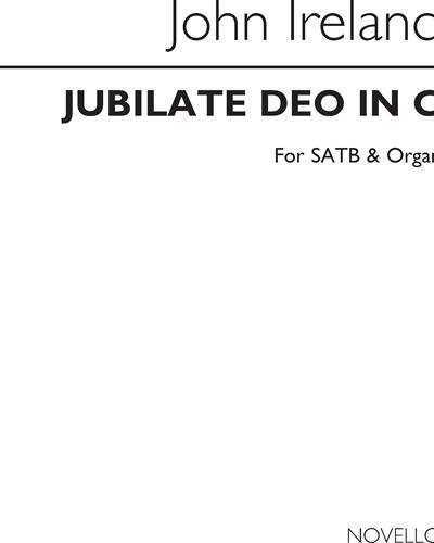 Jubilate Deo in C for SATB & Organ