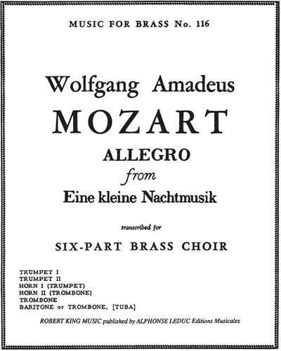 """Allegro (from """"Eine kleine Nachtmusik"""")"""