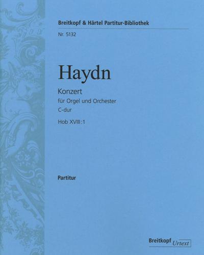 Orgelkonzert C-dur Hob XVIII:1