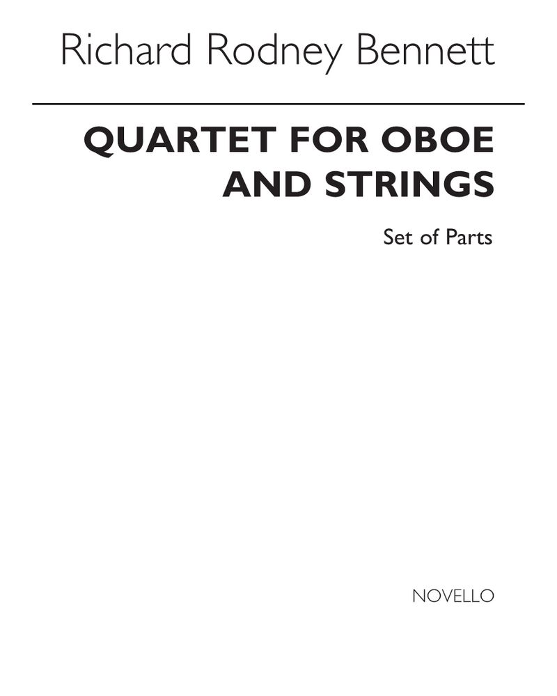 Quartet for Oboe and Strings