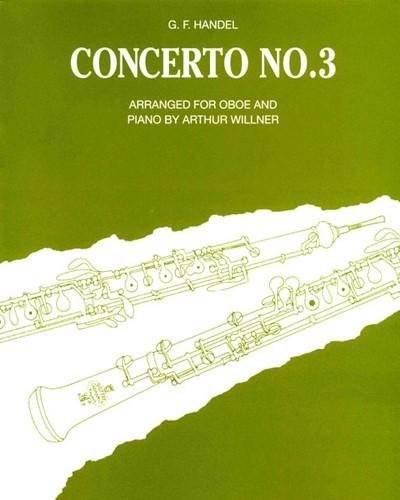 Concerto No. 3 in G minor, HWV 287