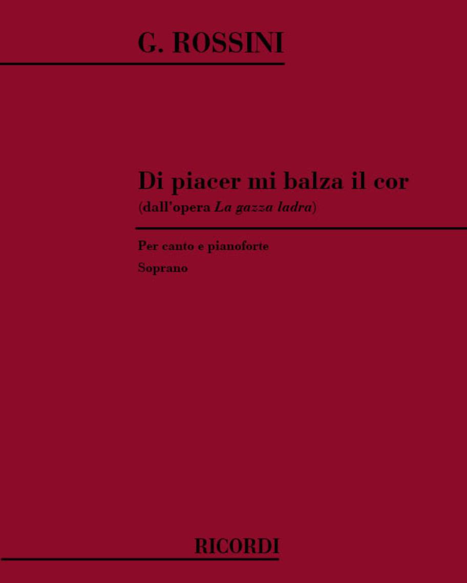 """Di piacer mi balza il cor (dall'opera """"La gazza ladra"""")"""