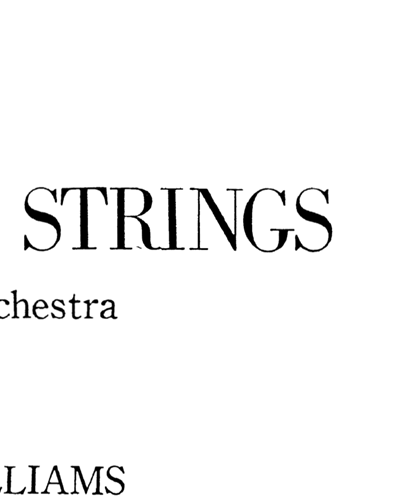 Essay for Strings