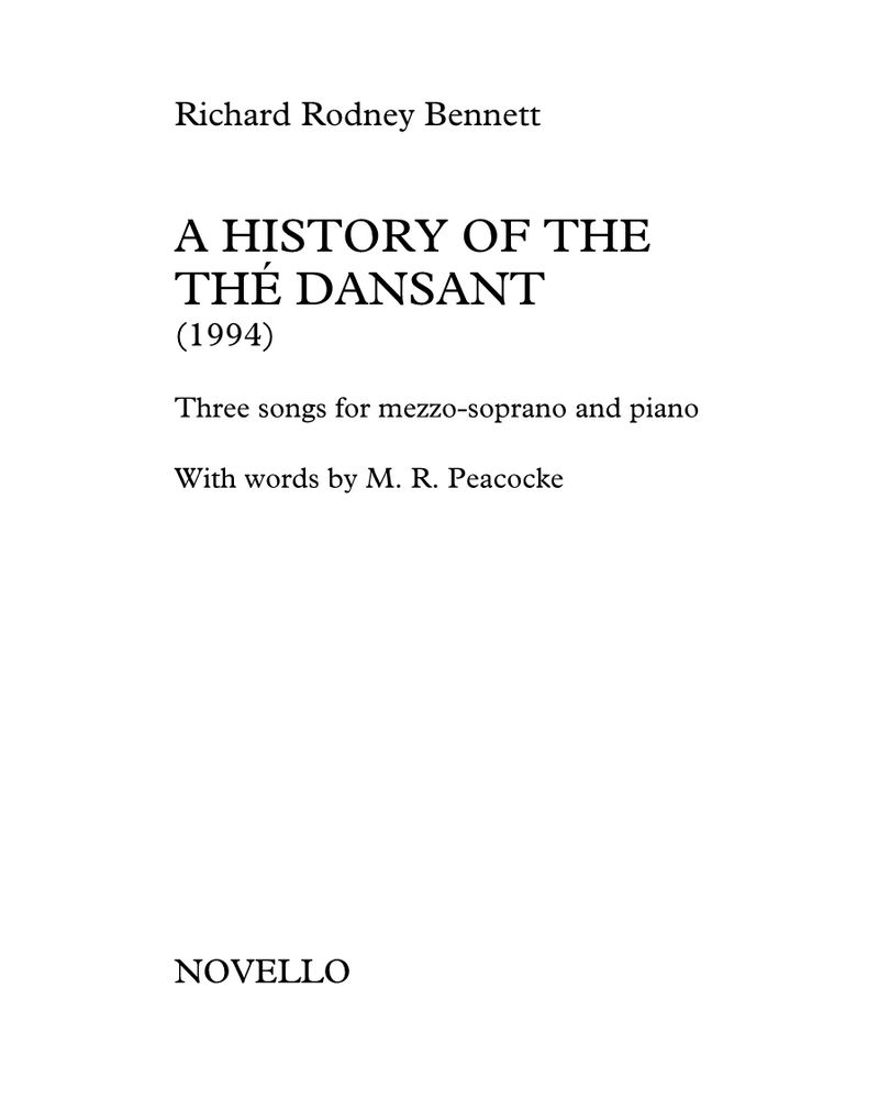 A History of the Thé Dansant