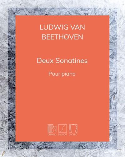 Deux sonatines pour piano