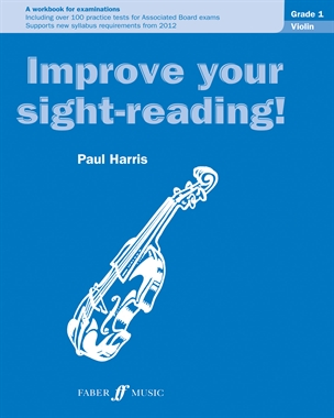 Improve Your Sight-Reading Violin: Grade 1 Extra Stage