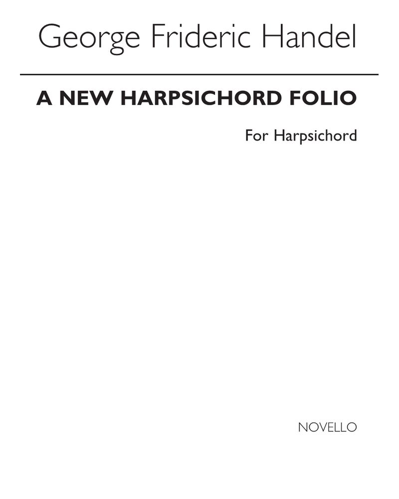 A New Harpsichord Folio