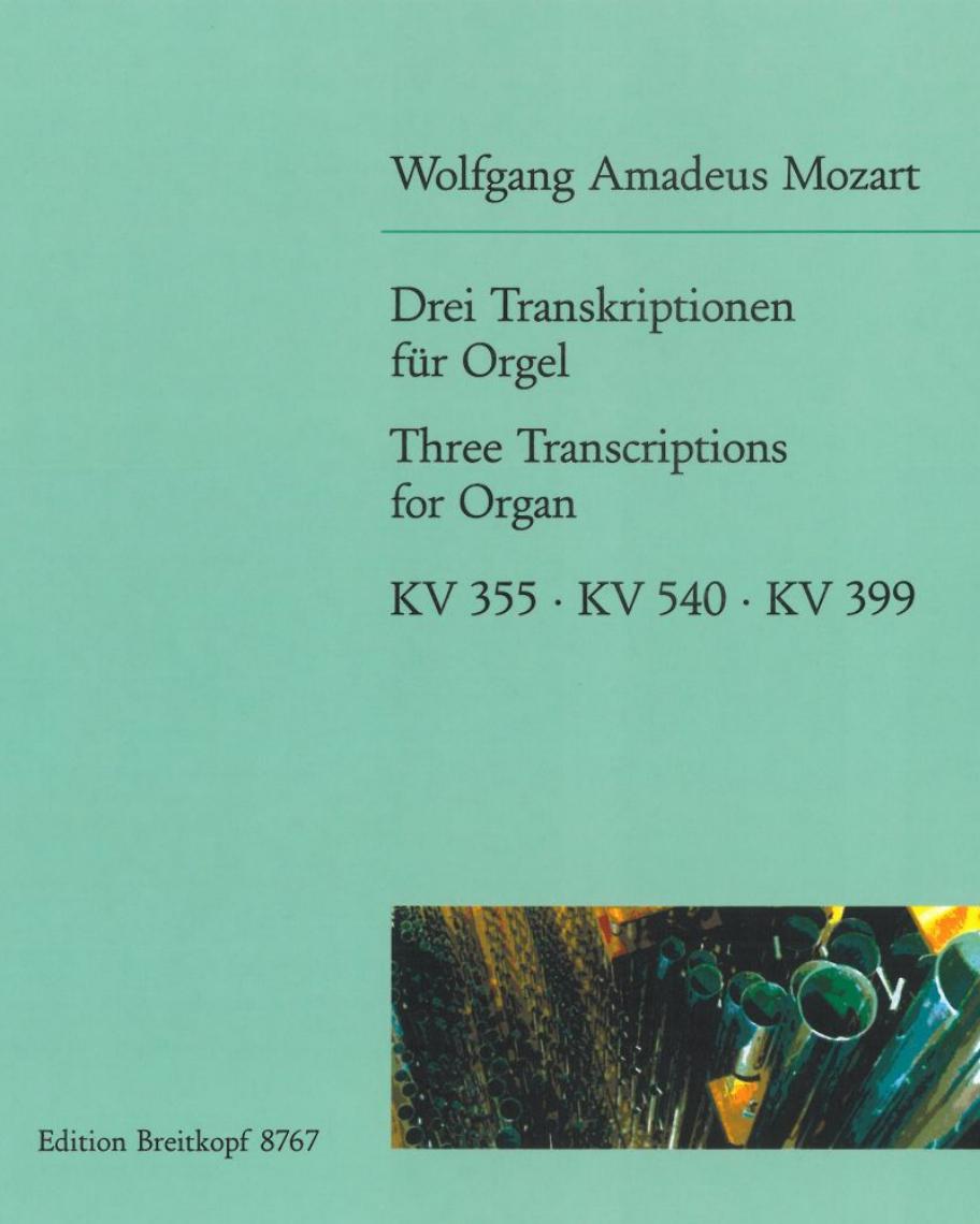 3 Transkriptionen für Orgel