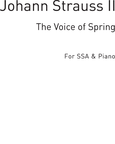 The Voice of Spring