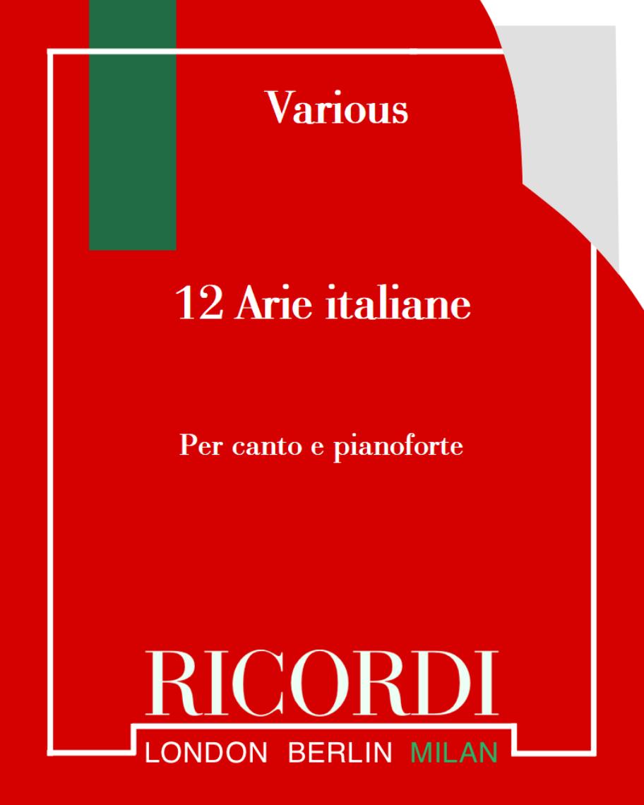 12 Arie italiane dei Secoli XVII e XVIII