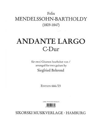 Andante Largo in C major