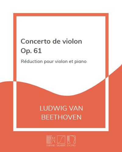 Concerto de violon Op. 61