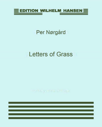 Letters of Grass