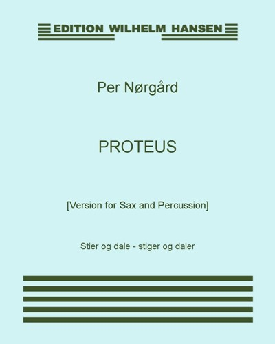 Proteus [Version for Sax and Percussion]