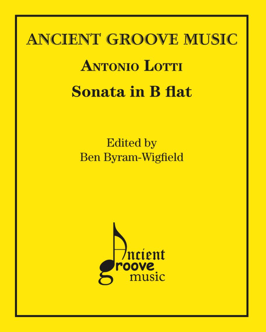 Sonata in B-flat