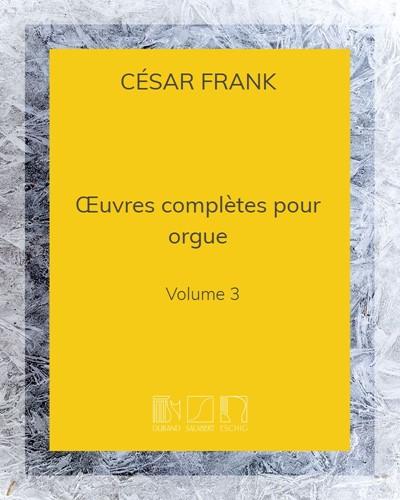 Œuvres complètes pour orgue Vol. 3