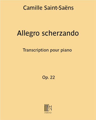"""Allegro scherzando (extrait de """"Concerto n. 2 en Sol mineur"""")"""