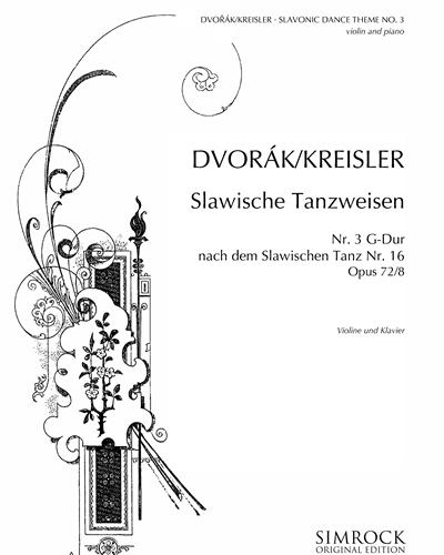 Slavonic Dance No. 3 in G major