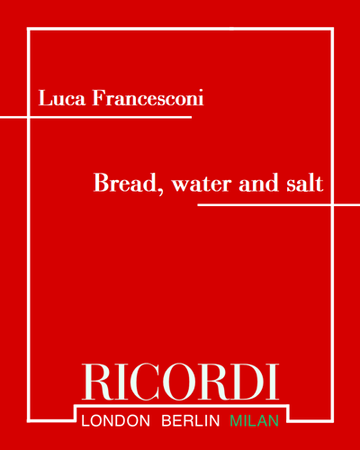 Bread, water and salt