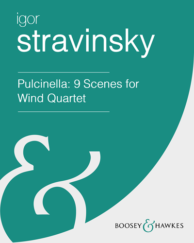 "Nine Scenes for Wind Quintet (from ""Pulcinella"")"